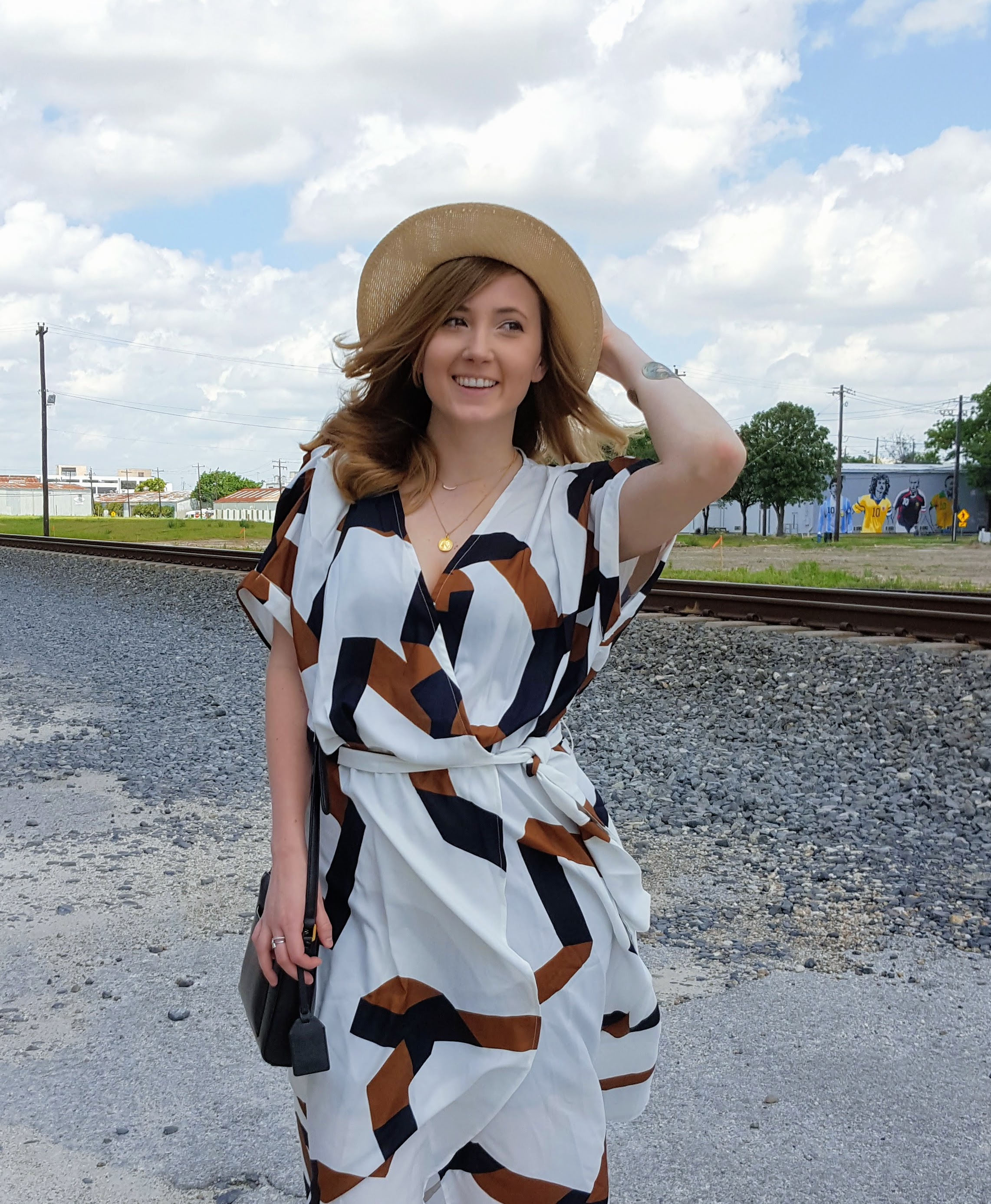 Flowing Wrap Dresses And Early Arrival Of Fall Palettes